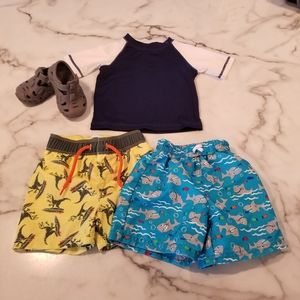 Old Navy / Healthtex Swim Bundle Size 12 Months